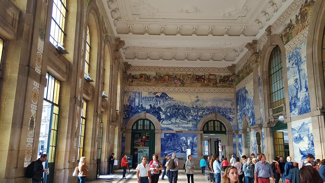 Gare ferroviaire de São Bento, de Marquês da Silva