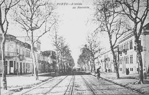 Avenue de Boavista au XIXe siècle
