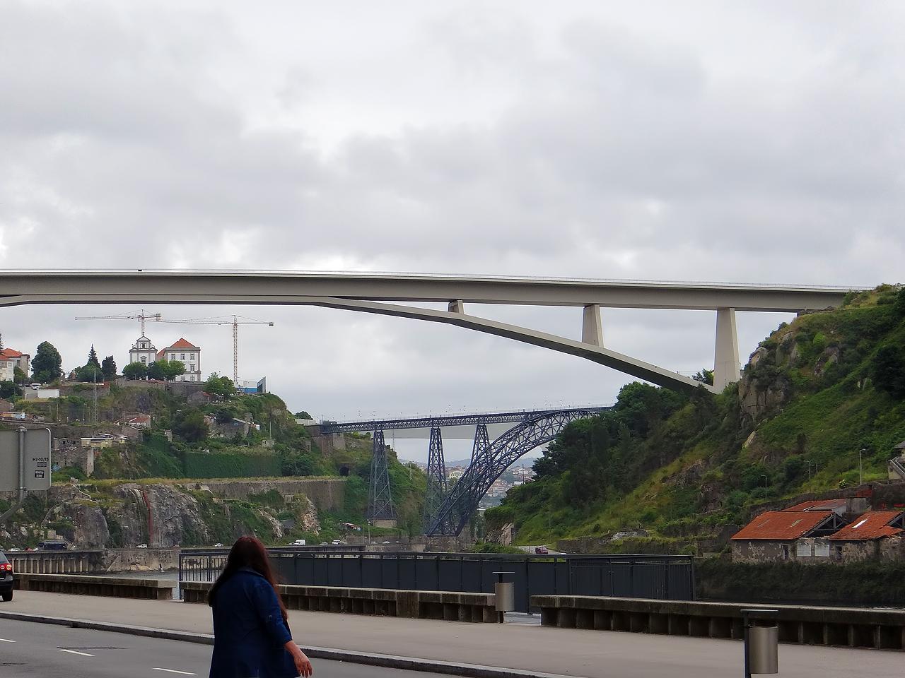 Pont São João de l'architecte Edgar Cardoso (1991)