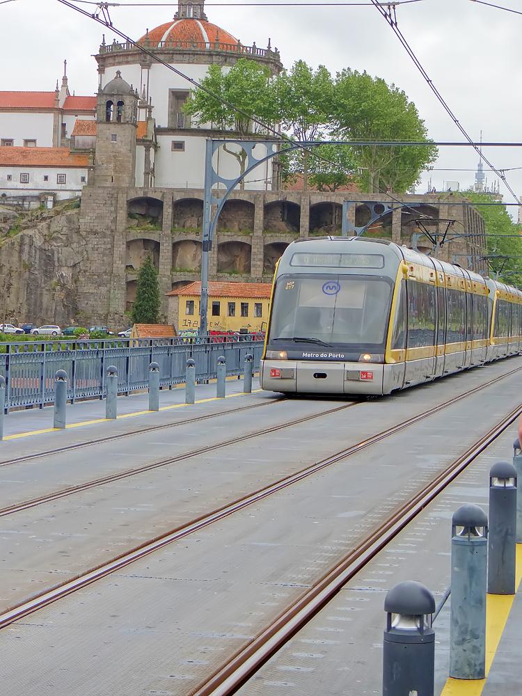Le métro de Porto