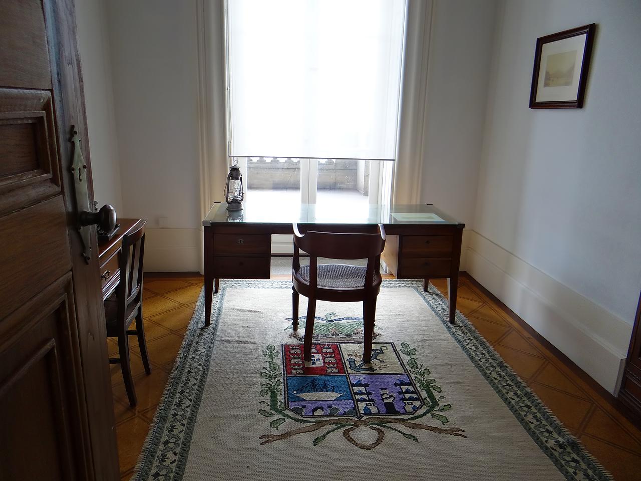 Le bureau de Gustave Eiffel au Palais de la Bourse.