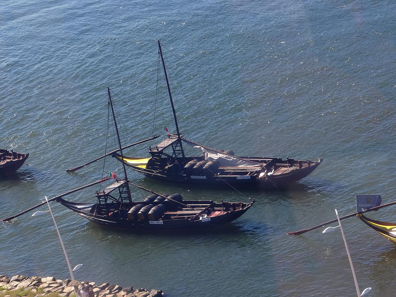 Barques de rabelos typiques