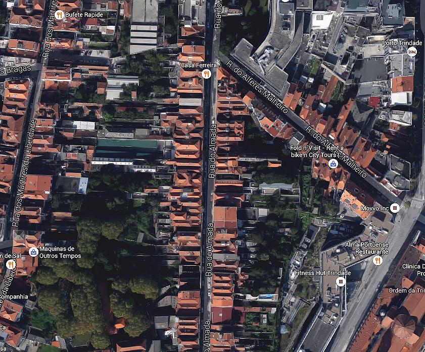 Stratification et trame urbaine à Porto